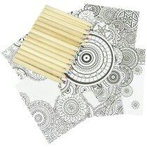 Mandala para colorear personalizada