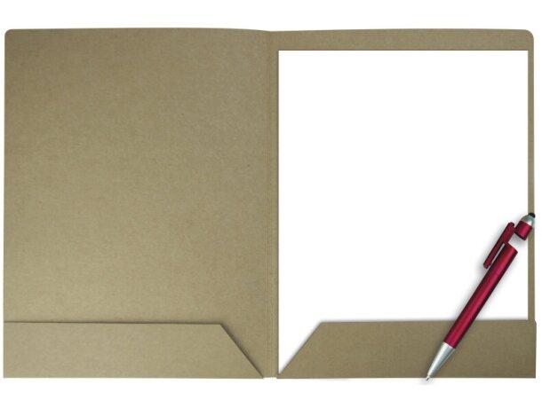 Portafolios de cartón A4