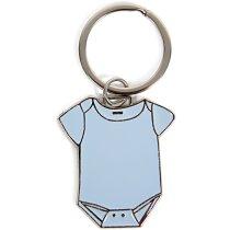 Llavero body bebe personalizado azul