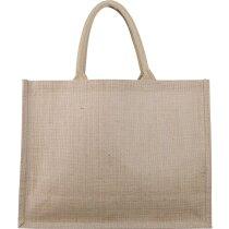 Bolsa de yute para la compra o la playa