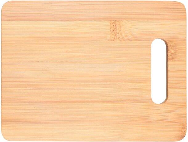 Tabla de cortar de bambú personalizada