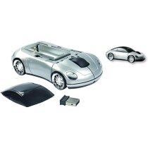 Ratón inalámbrico de plástico en forma de coche barato