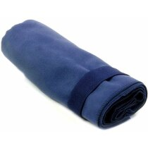 Toalla de microfibra de mano 80x130 cm personalizada azul