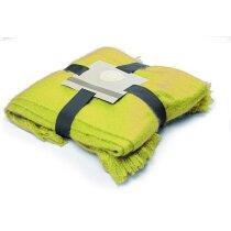 Manta polar 120x160 cm personalizada amarilla