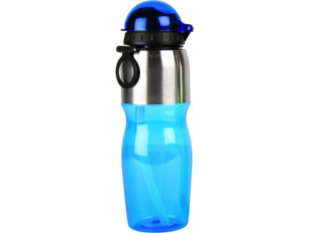 Botella de plástico y aluminio 600 ml personalizada