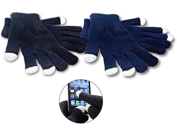 Guantes con 3 dedos touch personalizado