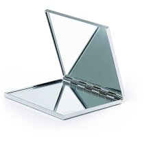 Espejo metálico cuadrado