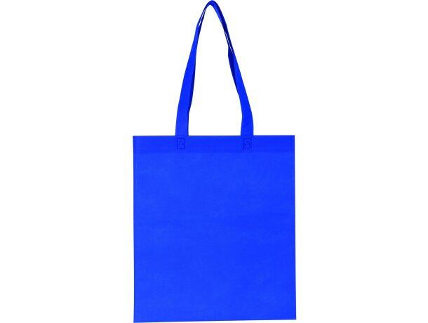 Bolsa termosellada de non woven azul