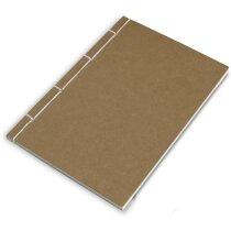 Libreta con 120 hojas y tapas cosidas personalizada