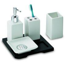 Set de piezas de baño en cerámica personalizada