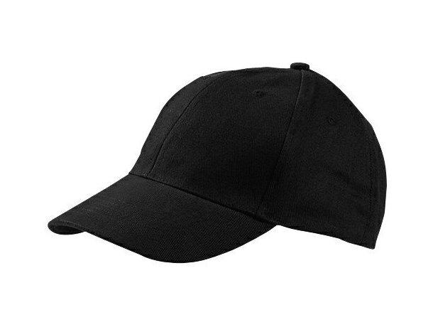 Gorra de algodón peinado con visera corta personalizada