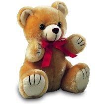 Muñeco oso de peluche con lazo personalizado
