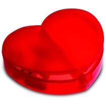 Pastillero Forma Corazón 2 departamentos. personalizado