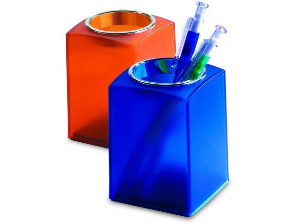 Cubilete para lápices en color ácido