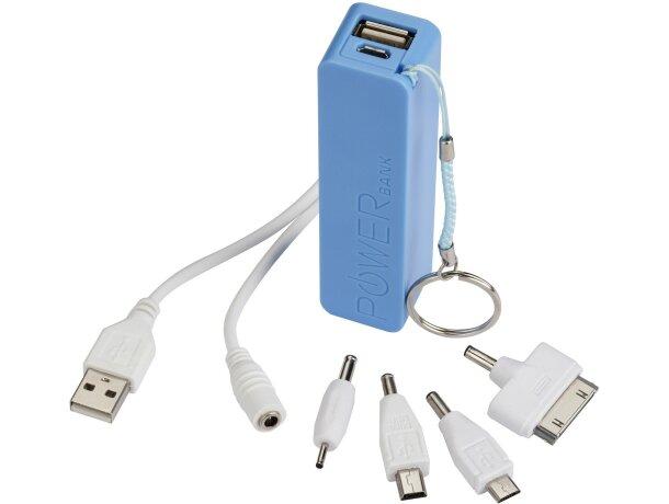 Batería externa de 2000mah con accesorios personalizada