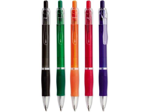 Bolígrafo a color con interruptor grabado