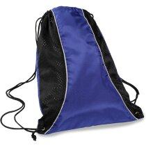 Bolsa mochila de nylon con rejilla transpirable