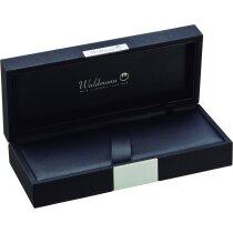 Estuche elegante de la marca Waldmann personalizado