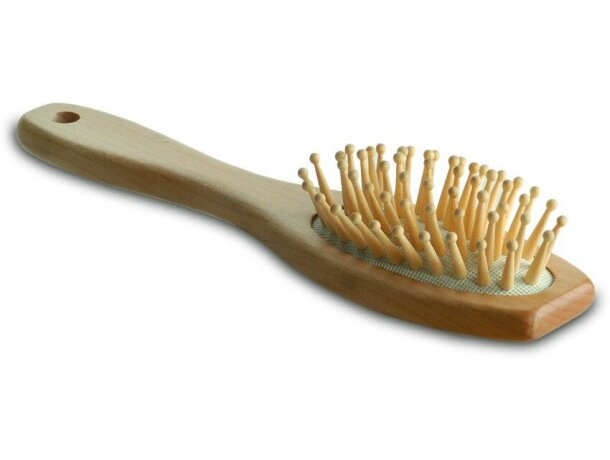 Cepillo de madera para el pelo personalizado