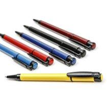 Bolígrafo a color con detalles en negro personalizado