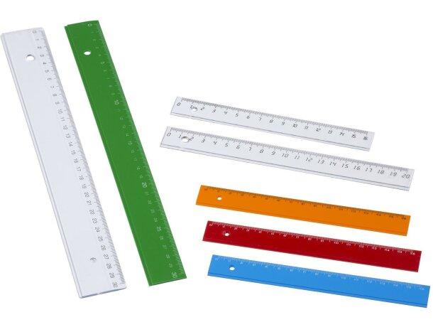 Regla estrecha de 30 cm personalizada