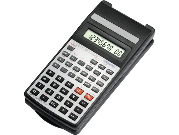 Calculadora científica con tapa de plástico personalizada