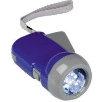 Linterna de dinamo con 3 luces led personalizada