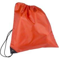Bolsa macuto con cuerdas para casco de moto personalizada