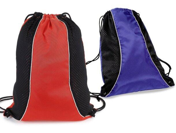 Bolsa mochila de nylon con rejilla transpirable barata