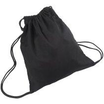Bolsa macuto de algodón con cordones personalizada