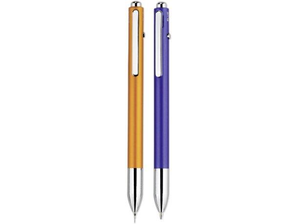 Bolígrafo multifunción con diseño fino
