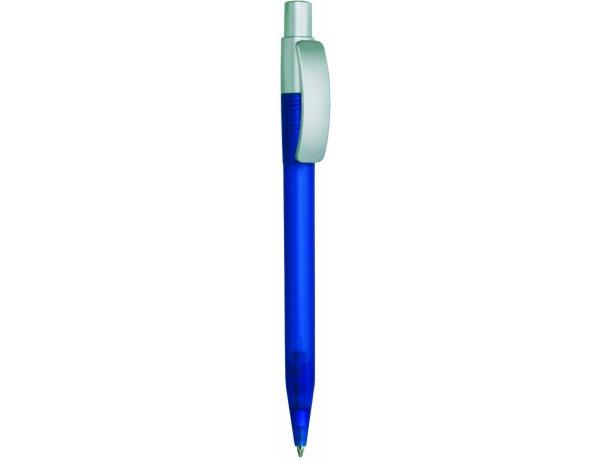 Bolígrafo de plástico con clip curvo barato