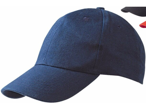 Gorra de 6 paneles alta calidad con cierre de metal