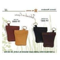 Llaveros de cuero de fabricación especial personalizado