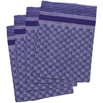 Trapo de cocina de algodón decorados personalizado azul royal
