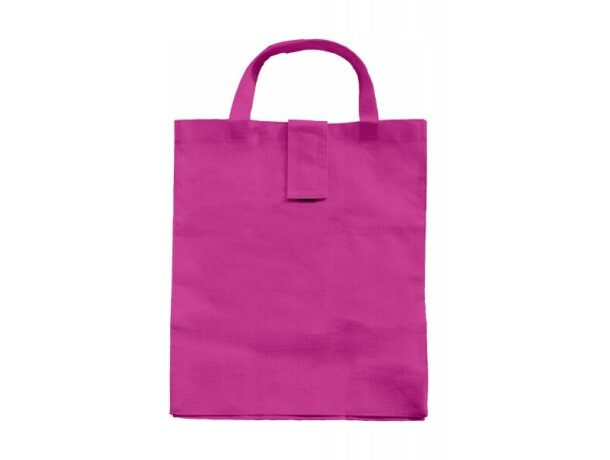 Bolsa plegable personalizada fucsia