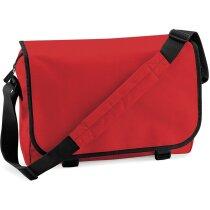 Bolsa de mensajero con correa ajustable personalizada roja
