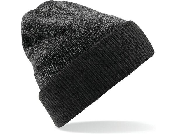 Gorro para el frío reversible personalizado gris