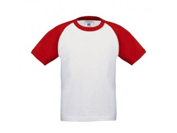 Camiseta de niño baseball 185 gr