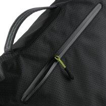 Bolsa con acolchado para portátil negra
