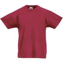 Camiseta Original Niño burdeos