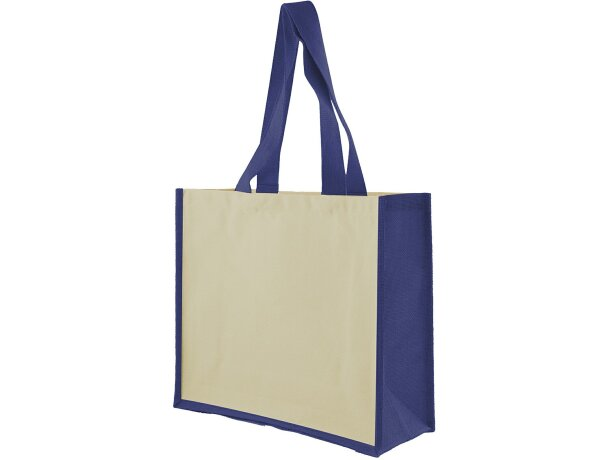 Jutton Leisure Bag blanco/azul