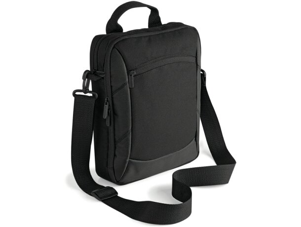 Bolsa de ejecutivo con medida para tablet personalizada negra