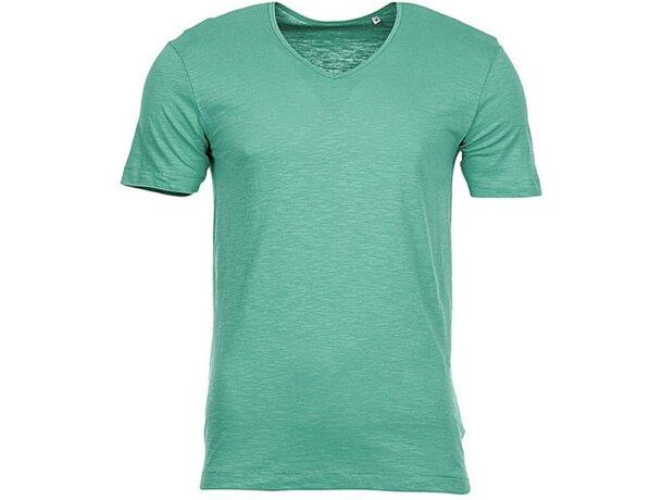 Camiseta de hombre cuello en V 135 gr