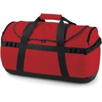 Bolsa de viaje cómoda y resistente personalizada roja
