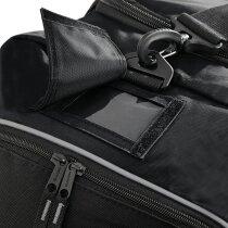 Bolsa de deporte muy resistente poliéster y nylon con logo negra