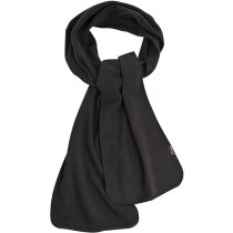 Bufanda sencilla polar personalizada negra