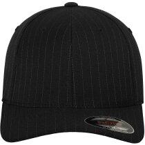 Gorra especial de calidad alta de 6 paneles personalizada negro/blanco