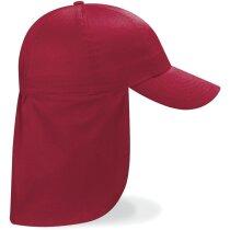 Gorra estilo legionario para niños con logo roja