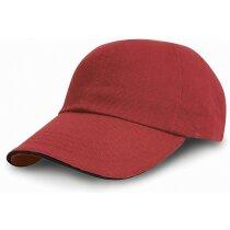 Gorra de algodón grueso con detalles de color personalizada